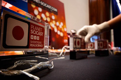Setting out the 2009 trophies