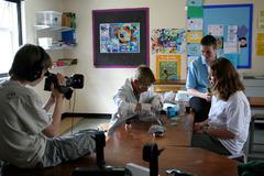 Filming the telescopic fish